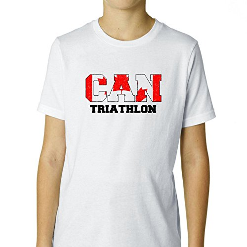Canada Triathlon - Olympic Games - Rio - Flag Boy's Cotton Youth - Canada Apparel Triathlon