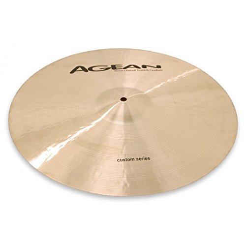 [Agean Cymbals Custom Series 19-inch Crash Medium Thin CU-CMT19] (19
