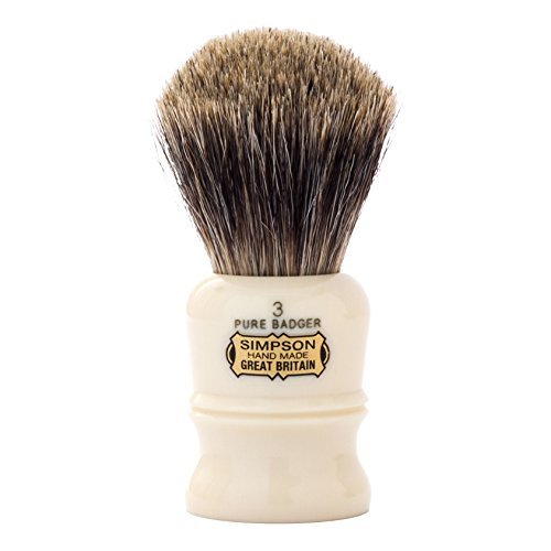 Simpsons The Duke D3 Pure Badger Hair Shaving Brush by Simpsons