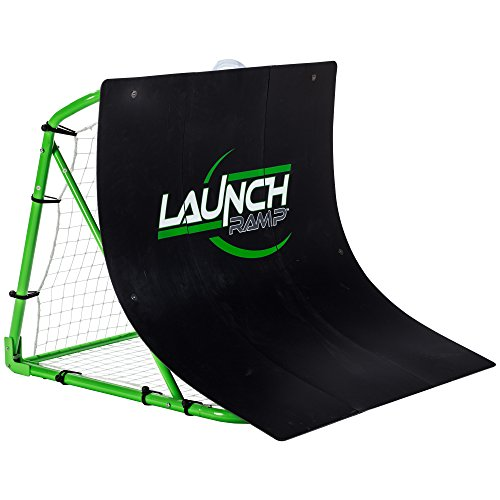 Franklin Sports Soccer Return Ramp - Soccer Launch Ramp - Portable Soccer Trainer and Rebounder - 38x42x35.75 Soccer Return
