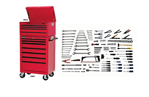 JH Williams WSC-173TB 173-Piece Intermediate Maintenance Set