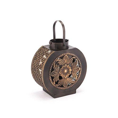 Zuo Leaves Lantern Small Black /& Gold
