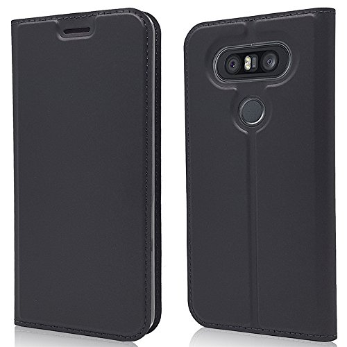 Scheam LG Q8 LG V20 Mini Leather Wallet Case with Cover LG Q8 LG V20 Mini Flip Cover, Cover, Shell Case ()