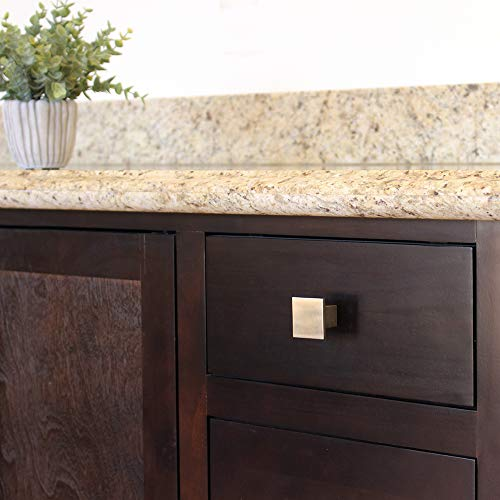 Buy design house cabinet knob in brushed nickel finish