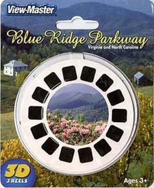 Blue Ridge Parkway - Virginia & No. Carolina - ViewMaster 3 Reel Set