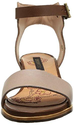 Neosens Callet 145 - Zapatos de Vestir de cuero mujer multicolor - Multicolore (Castor Lino)