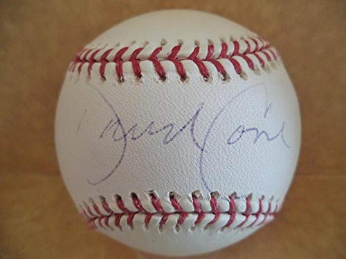 David Cone Signed Baseball - mets M l Sticker Only - JSA Certified - Autographed Baseballs