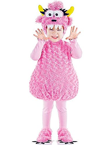 Cute Monster Costumes (Infant Toddler Pink Monster Costume Medium)