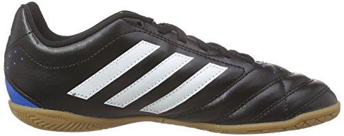 adidas Unisex-Kinder Goletto V in Fußballschuhe Schwarz (Core Black/Ftwr White/Solar Blue2 S14)