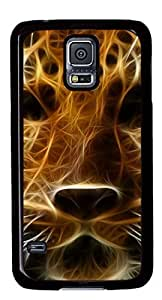 The Amur Leopard Masterpiece Limited Design DIY PC Black Case for Samsung Galaxy S5 I9600 by Cases & Mousepads