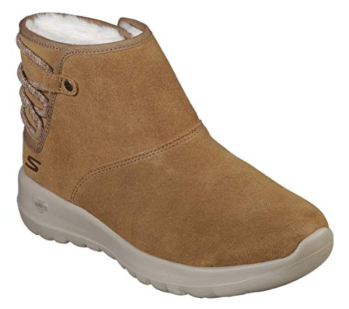 Skechers Donna Scarpe Pelle Go The Donna Joy On 15502 Stivali rYqRIr