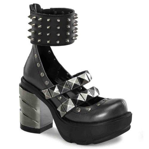 Womens Demonia Sinister 62 Fashion Cinturino Alla Caviglia Pumps D.pray-nero Pu