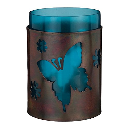 - Regal Art & Gift 3.25 inches x 3.25 inches x 5.5 inches Butterfly Bronze Candleholder Home Decor