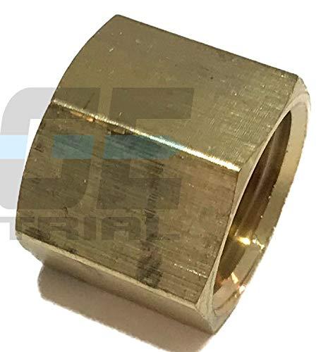 EDGE INDUSTRIAL Brass Pipe Cap 1/2