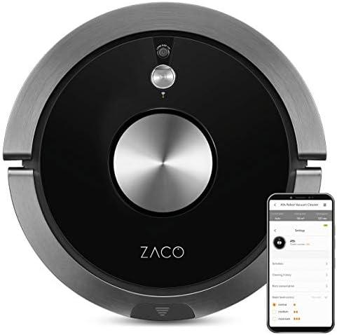 ZACO A9s - Robot 3 en 1 de aspiración y fregado, navegación ...