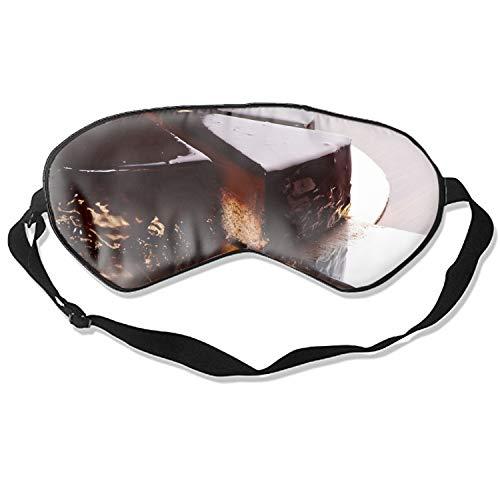 Frosting Chocolate Body - Cake Chocolate Frosting Travel Home Sleeping Eye Mask Cute Shading Eyeshade