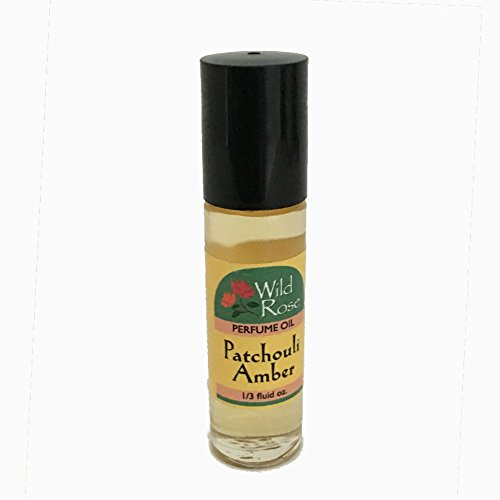Ice Imports Wild Rose Body Oil (Ice Imports Patchouli Amber Body Oil)