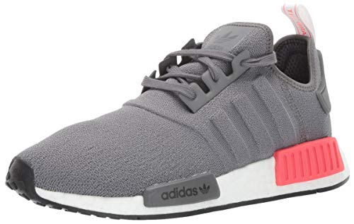adidas Originals Men's NMD_R1 Running Shoe, Grey/Shock red, 4 M US by adidas Originals (Image #1)
