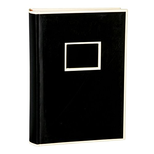 Semikolon 300 Pocket Bound Photo Album, Black (04107)