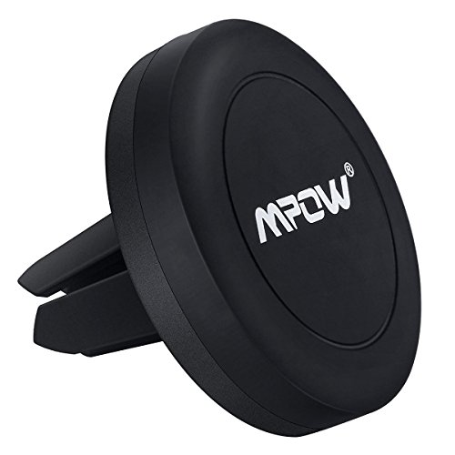 MPOW Magnet Universal Auto-Halterung Belüftung KFZ Handyhalterung Halter für iPhone 6 6S 6 Plus 6S Plus, Samsung Galaxy S6, HTC & andere Smartphones MP3 Players und andere GPS Geräte