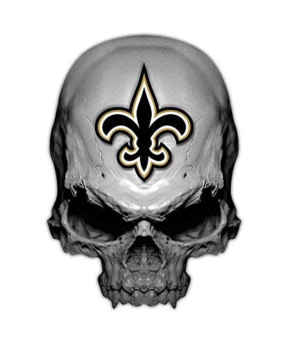 (Edwin Group of Companies Fleur-de-lis Skull car Sticker | Size 6