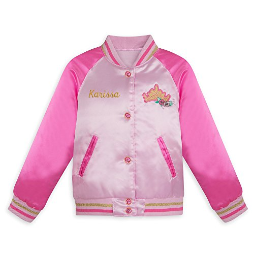 Disney Princess Varsity Jacket for Girls - Size 5/6 Pink