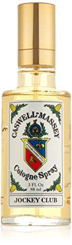 Caswell-Massey Jockey Club Cologne Spray - Refreshing Notes of Geranium, Sandalwood, Bergamot, Citrus and Musk - 3 Ounces
