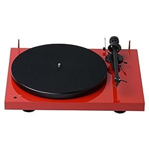 Amazon.com: Pro-Ject, tocadiscos Audiophile Rojo/Brillo ...
