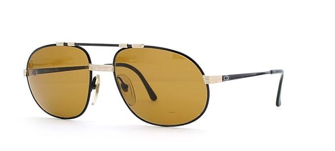 Amazon.com: Christian Dior 2615 94 negro y dorado auténtico ...