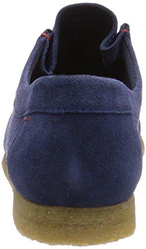 Sioux Grashopper-H-141 - mocasines de cuero hombre azul - Blau (indaco)