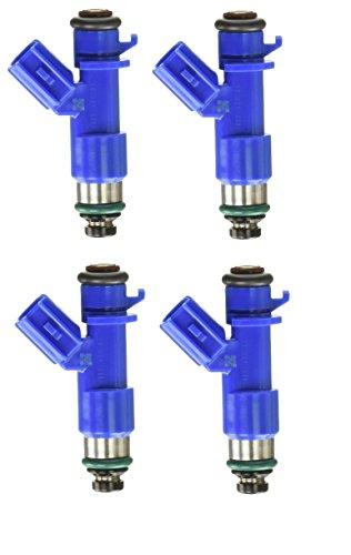 Re-Manufactured OEM 410cc 16450-RWC Fuel injectors for Honda Civic-Acura RDX Civic Integra RSX K20 K24 Set of 4