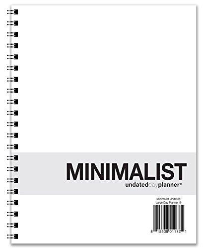 Action Publishing UNDATED Minimalist Day Planner (8.5