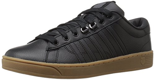 K-Swiss Men's Hoke CMF Fashion Sneaker, Black/Gum, 11.5 M US