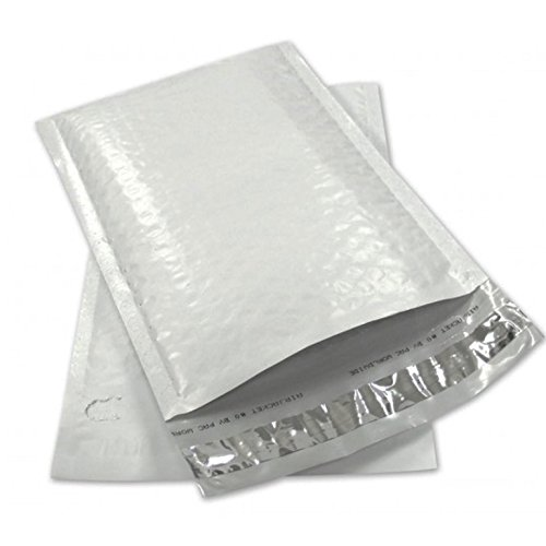 Sales4Less #2 Poly Bubble Mailers 8.5X12 Inches Padded Envelope Mailer Waterproof Pack of 50 (12 Bubble)
