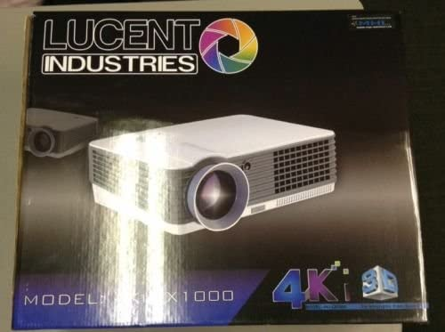 4 KI/3d proyector Lucent Technologies con HD Proyector Protector ...