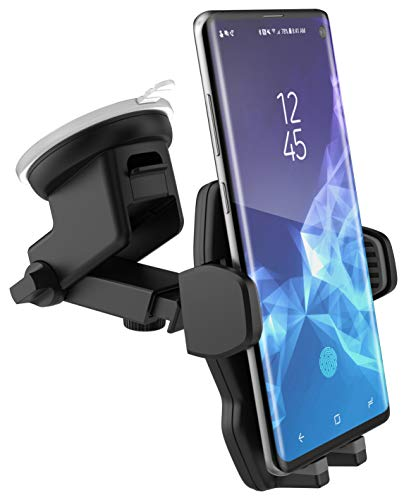 E-Z Dock Car Mount for Samsung Galaxy S10, S10e, S10 Plus Phone Holder - Windshield and Dash Compatible (By Encased) (Sun Devils Future Star)