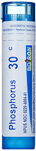 Boiron Homeopathic Medicine Phosphorus, 30C Pellets, 80 Count Tube