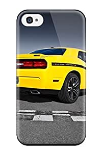 For Apple Iphone 5/5S Case Cover Slim 2012 Dodge Challenger Srt8 392 Yellow Jacket Rear Angle Srt Cars Dodge Case Cover