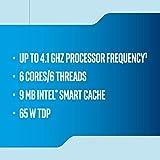 Intel Core i5-9400F Desktop Processor 6 Cores 4.1