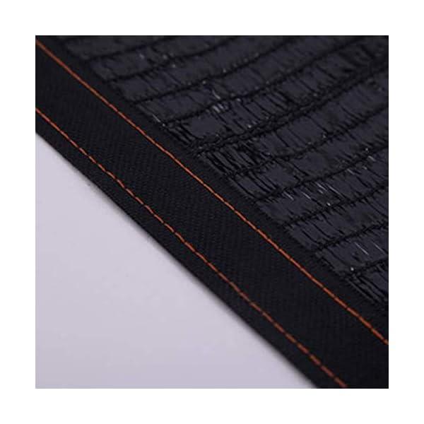 Giow - Telo protettivo per protezione solare in polietilene nero, 1 metro, 1 asola antipolvere, 21 misure (colore: nero… 6 spesavip