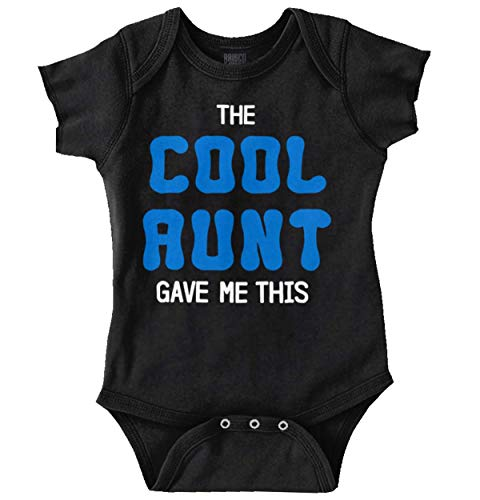 Brisco Brands The Cool Aunt Gave Me This | Auntie Niece Nephew Cute Family Romper Bodysuit by Brisco Brands (Image #9)