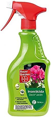 Insecticida Decis jardin pistola 750 Ml