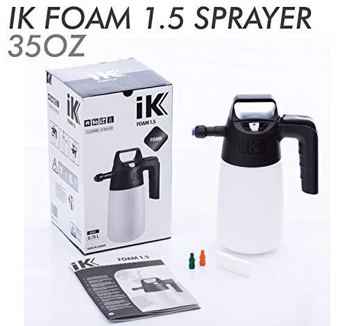 iK PUMP SPRAYER COMBO KIT (3-PK) iK Foam 9 + iK Foam 1.5 + iK Multi 1.5 Professional Auto Detailing Foamers and Multi-Purpose Pressure Sprayer | Pro Quality Tough with Easy To Use Design by THE RAG COMPANY (Image #4)