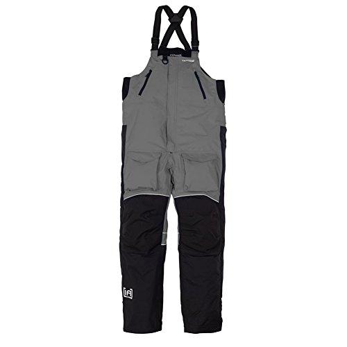 Men's CLAM Edge Cold Weather Bib-XXL Charcoal/Black