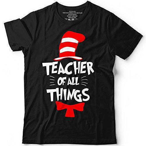 Teacher Of All Things Teacher's Day Funny Idea Gift Customized T-Shirt Hoodie/Long Sleeve/Tank -
