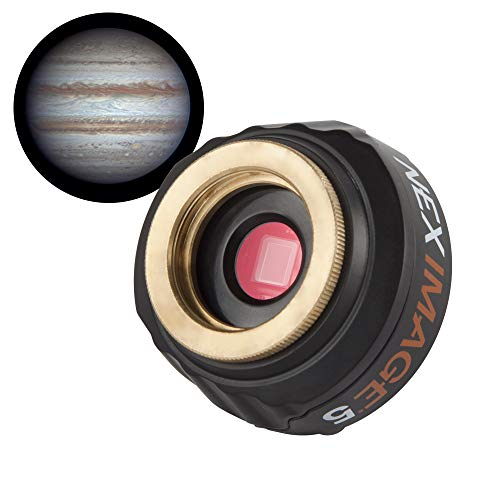 Celestron – NexImage 5 Solar System Imager – Astronomy Camera for Moon, Sun, and Planets – 5 MP Color Camera for Astroimaging for Beginners – High Resolution – Micron DigitalClarity Technology