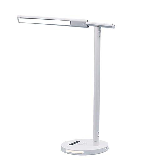 JTAITIAN Escritorio de luz LED, lámpara de Mesa de Control táctil ...