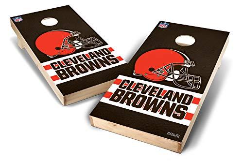 PROLINE NFL Cleveland Browns 2'x4' Cornhole Board Set - Wild Design