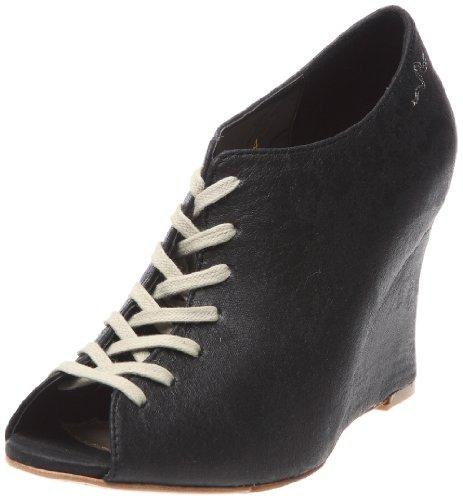 Feud Britannia Women's Marianne Wedges Heels Black Vintage
