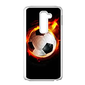 Fire Football Hot Seller High Quality Case Cove For LG G2